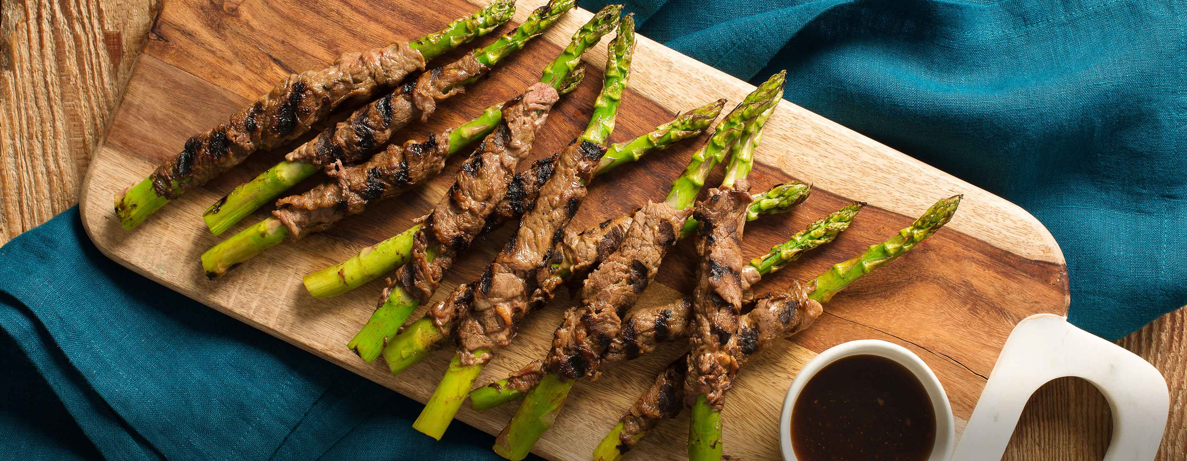 Teriyaki Glazed Beef with Asparagus
