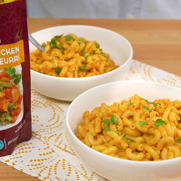Butter Chicken Mac 'n' Cheese