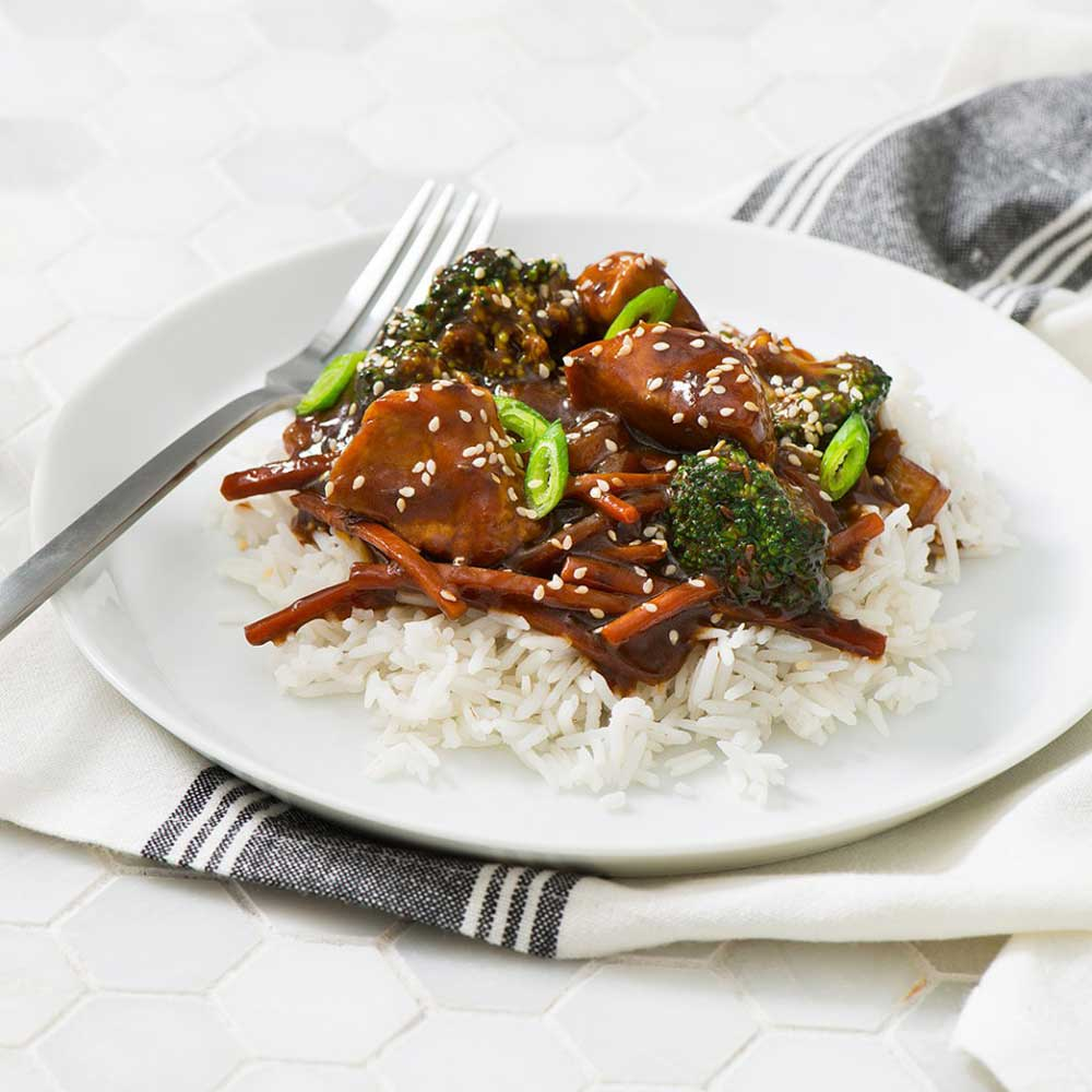 Korean Pork Stir-Fry