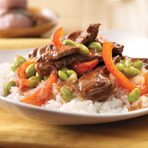 Spicy Beef and Red Pepper Stir-Fry