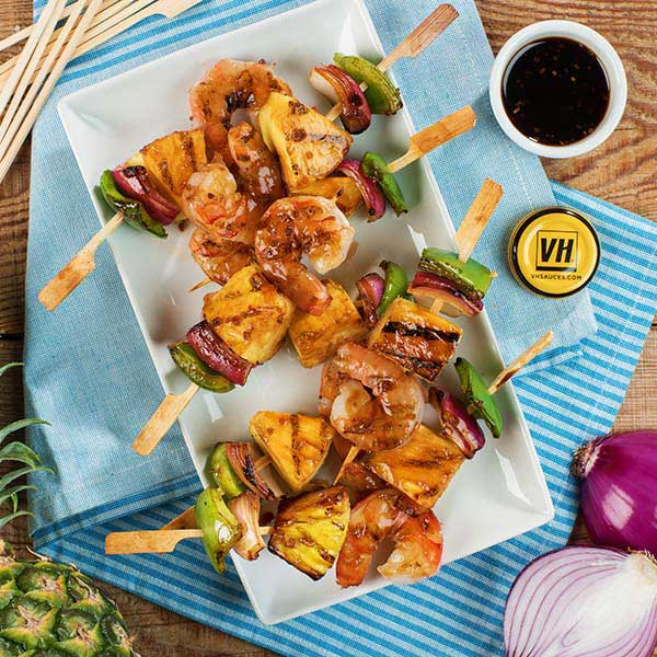 Tropical Shrimp Skewers